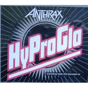 anthrax - HyProGlo CD single 1993 wea elektra 3 tracks used mint