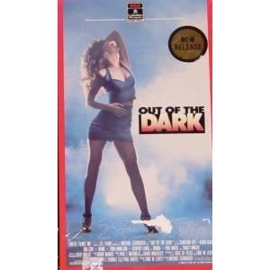 out of the dark starring Karen Witter, Lynn Danielson-Rosenthal, Karen Black VHS 1989 used good