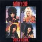 motley crue - shout at the devil CD 1983 elektra BMG Direct 11 tracks used mint