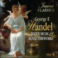 imperial classics - handel water music & royal fireworks CD made in holand used mint