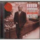 haydn symphonies nos. 93, 99 & 100 - london philharmonia & slatkin CD 1997 rca bmg direct used