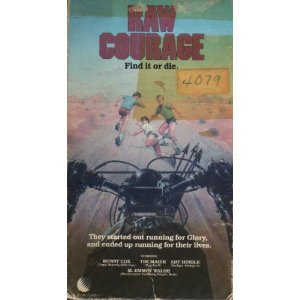 raw courage - ronny cox art hindle m emmet walsh VHS 1983 adams apple new world 90 minutes used VG