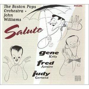 Boston Pops & John Williams Salute Gene Kelly Fred Astaire and Judy Garland CD 1996 polygram BMG Dir