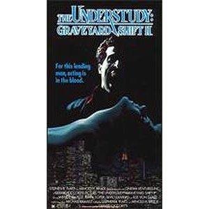 the understudy: graveyard shift II VHS 1988 virgin vision 88 minutes used
