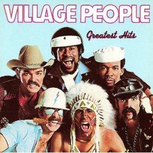 village people - greatest hits CD 1988 rhino polygram used mint