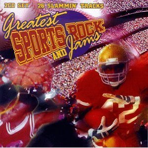 greatest sports rock and jams - various artists CD 2-discs 1997 k-tel used mint