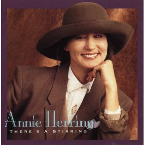 annie herring - there's a stirring CD 1992 sparrow used mint