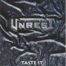 unrest - taste it CD 1992 inline music 9 tracks used mint