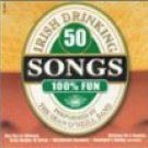 50 irish drinking songs CD 1999 madacy used mint