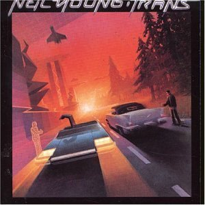 neil young - trans CD 1982 geffen victor japan 9 tracks used