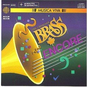 canadian brass - encore CD 1987 CBC musica viva used mint