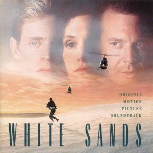 white sands - original motion picture soundtrack CD 1992 morgan creek used mint barcode punched