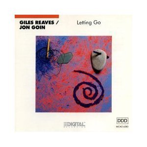 giles reaves & jon goin - letting go CD 1989 MCA used mint inserts punched