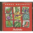 true value - happy holidays 30th anniversary - various artists CD 1995 cema new