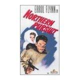 northern pursuit - errol flynn VHS 1994 MGM 94 minutes used mint