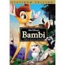 walt disney's bambi DVD 2-disc platinum edition used mint