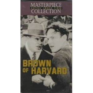 brown of harvard - william haines mary brian VHS 1926 1996 masterpiece collection B&W 85 mins new