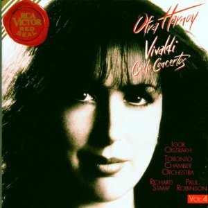 ofra harnoy - vivaldi cello concertos vol.4 CD 1996 RCA BMG used mint