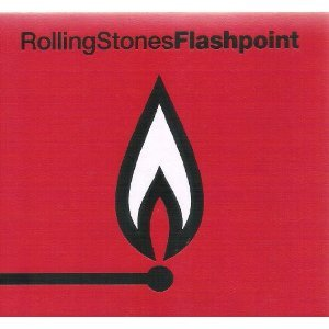 rolling stones - flashpoint + collectibles CD 2-disc box 1991 sony used mint