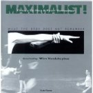maximalist! what the body does not remember - wim vandekeybus CD 1996 sub rosa austria used mint