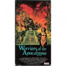 warriors of the apocalypse VHS 1992 avid 96 min used