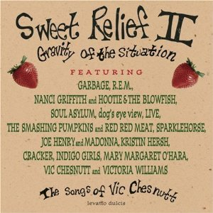 sweet relief II - gravity of the situation - songs of vic chesnutt CD 1996 sony used mint