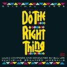 do the right thing - original score - bill lee with branford marsalis CD 1989 CBS used mint