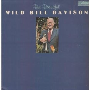 wild bill davison - but beautiful LP 1981 storyville slp-4048 used VG