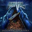 anvil - juggernaut of justice CD 2011 end records 14 tracks used mint