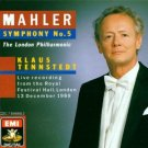 mahler symphony no.5 london philharmonic with tennstedt CD 1989 EMI used mint