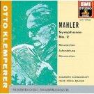 mahler symphonie no.2 resurrection - klemperer and philharmonia chorus & orchestra CD 1989 EMI mint