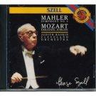 mahler symphony no.4 & mozart exsultate jubilate - szell raskin cleveland orchestra CD 1987 CBS mint