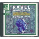 ravel music for piano volume 2 - monique haas CD 1968 erato used mint