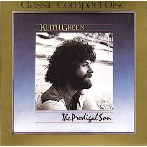 keith green - the prodigal son CD 1983 1986 pretty good records used mint