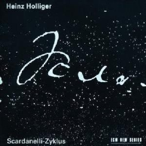 heinz holliger - scardanelli-zyklus CD 2-disc box 1993 ECM BMG used mint