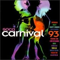 soca carnival 93 - various artists CD 1992 ice used mint