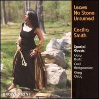 cecilia smith - leave no stone unturned CD 1997 brownstone used