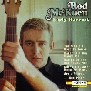 rod mckuen - early harvest CD 1994 laserlight stanyan used mint