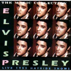 elvis presley - live 1955 hayride shows CD ABC records used mint