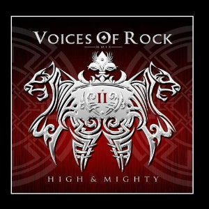 voices of rock - high & mighty CD 2009 metal heaven import 11 tracks mint