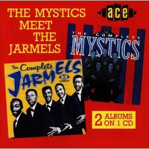 the mystics meet the jarmels CD 1998 ace emi UK 30 tracks used mint