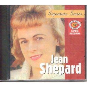 jean shepard - signature series CD 2003 EMI CMG 14 tracks used
