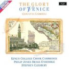 gabrieli - glory of venice - king's college choir stephen cleobury CD 1987 argo decca