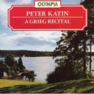 peter katin - a grieg recital CD 1988 olympia 14 tracks used mint