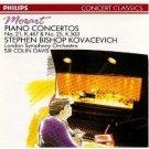 mozart piano concertos no.21 k467 & no.25 k503 - kovacevich and davis CD 1989 philips used mint