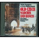 old czech marches and dances - neumann & czech philharmonic CD 1987 supraphon 11 tracks used mint