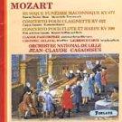 Mozart Musique Funèbre Maçonnique - Casadesus & Lille CD 1987 forlane France