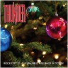 thunder - rock city 12 the baubles are back in town CD dodgy UK used mint