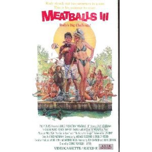 meatballs III starring sally kellerman shannon tweed VHS 1984 avid used mint
