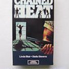 chained heat - linda blair stella stevens VHS 1989 video treasures 97 mins used